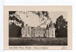 CP - SAINT-GILLES-VIEUX-MARCHÉ - Château Du Quélénec - Saint-Gilles-Vieux-Marché