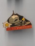 Pin's CYCLISME -- Col Du TOURMALET - Cyclisme