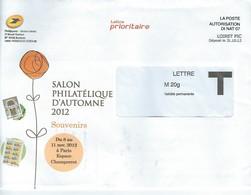 Lettre - Document De La Poste Française - Francia
