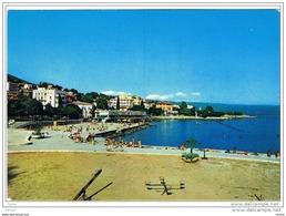 OPATIJA:  THE  BEACH  -  TO  SWITZERLAND  -  FG - Croazia