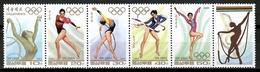 Korea 1994 Corea / Olympic Games Gymnastics MNH Juegos Olímpicos Gimnasia Olympische Spiele / Cu14235  30-24 - Juegos Olímpicos