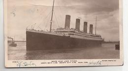 Paquebot White Star Liner Titanic - Dampfer