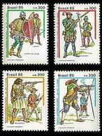 BRAZIL #2017-20  -   Military Uniforms  3v    1985  -  MNH - Brazil