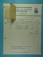 Manufacture De Cigares Romano Jos & Art Janssens Gheel /6/ - Belgique