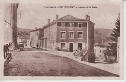 PUY DE DÔME - 1050 - CUNLHAT - Avenue De La Poste - Cunlhat