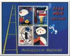 Ref. 228514 * MNH * - GAMBIA. 2004. TRIBUTE TO JOAN MIRO . HOMENAJE A JOAN MIRO - Gambia (1965-...)