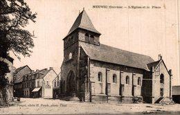 NEUVIC - L'EGLISE ET LA PLACE - France