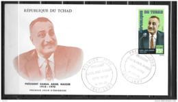 FDC - 1971 - Nasser - Tchad (1960-...)