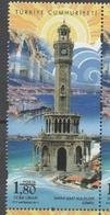 TURKEY, 2017, MNH, IZMIR, CLOCK TOWER, TEMPLES, COASTLINES, 1v - Architecture