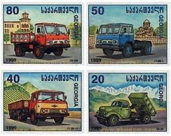 Ref. 50184 * MNH * - GEORGIA. 1999. TRUCKS . CAMIONES - Trasporti
