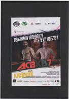ROMANIA CLUJ-NAPOCA- 2016 - KICKBOX -  Poster (10.5x15 Cm) - Martial Arts