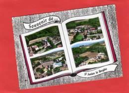 CPSM * * Souvenir De SAINT-JUNIEN-LA-BREGERE * * - Other Municipalities