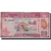 Billet, Sri Lanka, 20 Rupees, 2010-01-01, KM:123a, TB - Sri Lanka