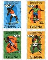 Ref. 70801 * MNH * - GHANA. 1977. GAMES OF THE XXI OLYMPIAD. MONTREAL 1976 . 21 JUEGOS OLIMPICOS VERANO MONTREAL 1976 - Estate 1976: Montreal