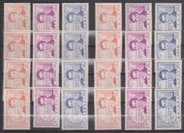 Grandes Séries Coloniales - René Caillé Série Complete - Sans Gomme - Cote 30 Euros Prix De Départ 7 Euros - 1939 Centenaire De René Caillé