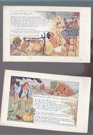 Pub Montre Zenith / Fable / Milan Et Le Rosignol +  Le Gland Et La Citrouille / H.Mirande - Autres Illustrateurs