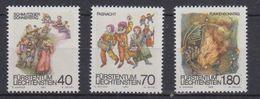 Liechtenstein 1983 Fasnachts- Und Fastenbräuche 3v  ** Mnh (43814) - Liechtenstein