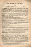 ANNUAIRE - 42 - Département Loire - Année 1911 - édition Didot-Bottin - 95 Pages - Telephone Directories