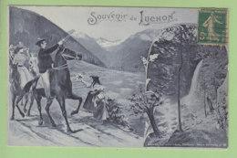 LUCHON : Souvenir. 2 Scans. Edition Labouche Frères, Série Souvenir N°22 - Luchon
