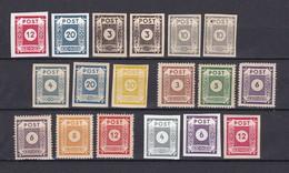 Ost Sachsen - 1945 - Sammlung - Sowjetische Zone (SBZ)