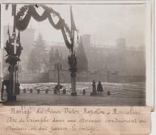 MARIAGE DU PRINCE VICTOR NAPOLÉON MONCALIERI CHATEAU 18*13CM Maurice-Louis BRANGER PARÍS (1874-1950) - Célébrités