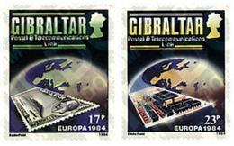 Ref. 82525 * MNH * - GIBRALTAR. 1984. EUROPA CEPT. 25th  ANNIVERSARY OF CEPT . EUROPA CEPT. 25 ANIVERSARIO DE LA CEPT - Europa-CEPT