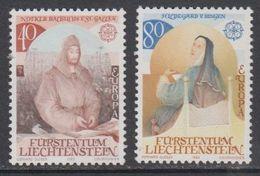 Europa Cept 1983 Liechtenstein 2v ** Mnh (43815) - 1983