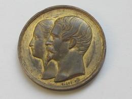 Très Belle Médaille - MAISON DE LA BELLE JARDINIERE - Quai Aux Fleurs N°1 à PARIS -P.ARISSOT **** EN ACHAT IMMEDIAT **** - Professionnels / De Société