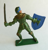 FIGURINE STARLUX -  SOLDAT MEDIEVAL CHEVALIER   MPC33 HOMME D'ARME EPEE 1966 - Starlux