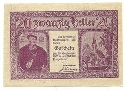 1920 - Austria - Holzhausen Notgeld N24 - Austria