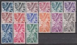 Grandes Séries Coloniales - Anniv. De La Victoire Série Complete - Sans Gomme - Cote 21 Euros Prix De Départ 5 Euros - 1946 Anniversaire De La Victoire
