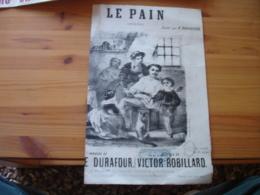 Partition Musique Ancienne Gravure  Le Pain Gravure Edi Philibert Bordeaux - Scores & Partitions