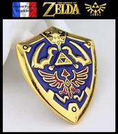 1 Pins Pin's NEUF En Métal ( Brooch ) - The Legend Of Zelda 4cm ! ( Ref 3 ) - Jeux