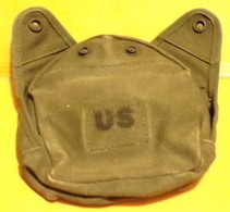 ARMEE AMERICAINE U.S : ETUI DE GOURDE   ,  ETAT VOIR PHOTO . POUR TOUT RENSEIGNEMENT ME CONTACTER. REGARDEZ MES AUTRES V - Equipement