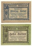 1920 - Austria - Ultichwendt Notgeld N29 - Austria