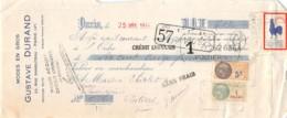 37-1334   1935 MODES EN GROS GUSTAVE DURAND A PARIS - MAISON THIOLET A POITIERS - Lettres De Change