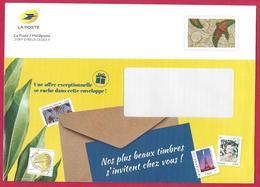 "France (2019) Entier Postal De Service Prêt-à-poster ""Tissu Africain"", ""African Fabric"". Service Postal Stationery. - Biglietto Postale"