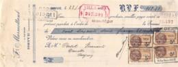 37-1389   1926 F MARMOTTANT A BRIVE - M. PERSET A NAUCELLE - Lettres De Change