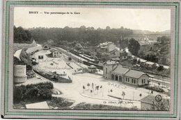 CPA- BRIEY (54) - Aspect De La Gare, Du Dépôt De Marchandise Et Du Réservoir D'eau Au Début Du Siècle - Briey