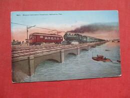Train Greater  Galveston Causeway - Texas > Galveston     Ref 3508 - Galveston