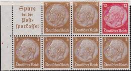 Deutsches  Reich   .    Michel   .     H-Blatt  94      .   **      .     Postfrisch  .   /  .   MNH - Se-Tenant