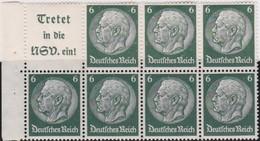 Deutsches  Reich   .    Michel   .     H-Blatt  96      .   **      .     Postfrisch  .   /  .   MNH - Se-Tenant