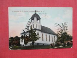 ST Aloysius R.C. Church Livingston Manor New York        Ref 3508 - NY - New York