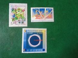 FRANCE   1999   N° 3223-37-3261    NEUF**    20% - Ongebruikt
