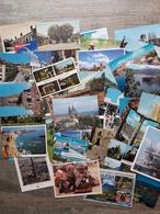 PK/CP : Lot Van 125 Postkaarten Wereld (mix) - Lot De 125 Cartes Postales Monde (mélange) - Postkaarten