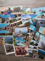PK/CP : Lot Van 125 Postkaarten Wereld (mix) - Lot De 125 Cartes Postales Monde (mélange) - Cartes Postales