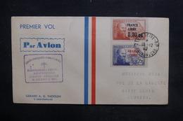 MADAGASCAR - Enveloppe De La Réouverture De La Ligne Madagascar / Réunion En 1943, Affranchissement Plaisant - L 36403 - Madagascar (1889-1960)