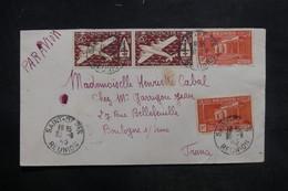 RÉUNION - Enveloppe De Saint Denis Pour La France En 1945, Affranchissement Plaisant - L 36406 - Réunion (1852-1975)