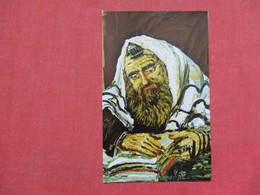 Art Work By Morris Katz- In  Prayer        Ref 3508 - Jewish