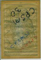 ANNUAIRE - 18 - Département Cher - Année 1919 - édition Didot-Bottin - 41 Pages - Telefonbücher